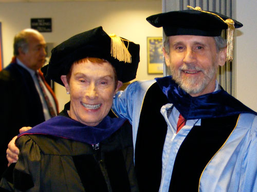 Dr. Maria Velez de Berliner and Dr. Richard Dye